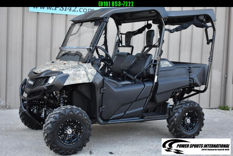 2016 HONDA SXS700M4G PIONEER 4 CAMOUFLAGE 4-Seater Sport Utility Side-by-Side w/ EXTRAS #1681
