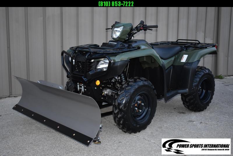 2019 HONDA TRX500FA5 FOURTRAX FOREMAN RUBICON EPS HUNTER GREEN 4X4 ATV #0019