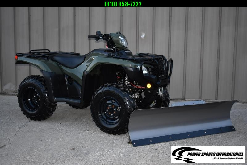 2019 HONDA TRX500FA5 FOURTRAX FOREMAN RUBICON EPS HUNTER GREEN 4X4 ATV #0019