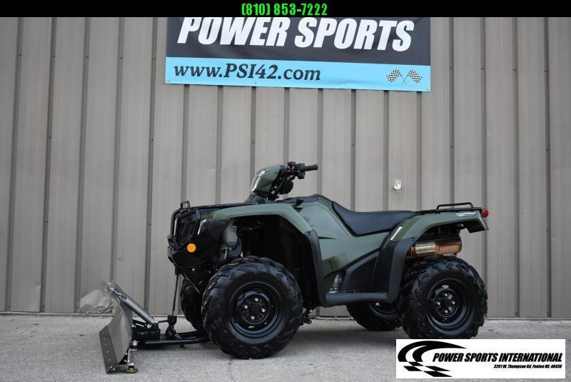 2019 HONDA TRX500FA5 FOURTRAX FOREMAN RUBICON IRS EPS HUNTER GREEN 4X4 ATV #0019