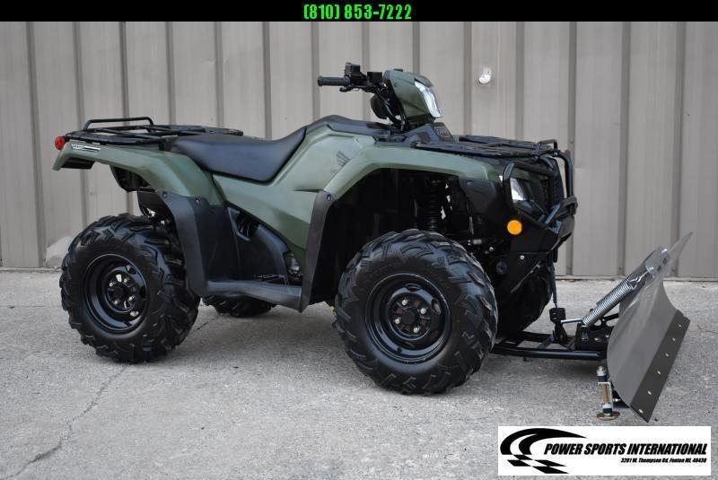 2019 HONDA TRX500FA5 FOURTRAX FOREMAN RUBICON IRS EPS HUNTER GREEN 4X4 ATV #0019