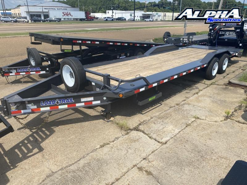 "2021 Load Trail 102"" x 26' Tandem Axle 10"" I-Beam Frame Equipment Hauler 20K GVWR"