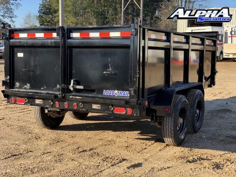 """2021 Load Trail 83"""" x 14' Tandem Axle Dump Trailer 14K GVWR"""