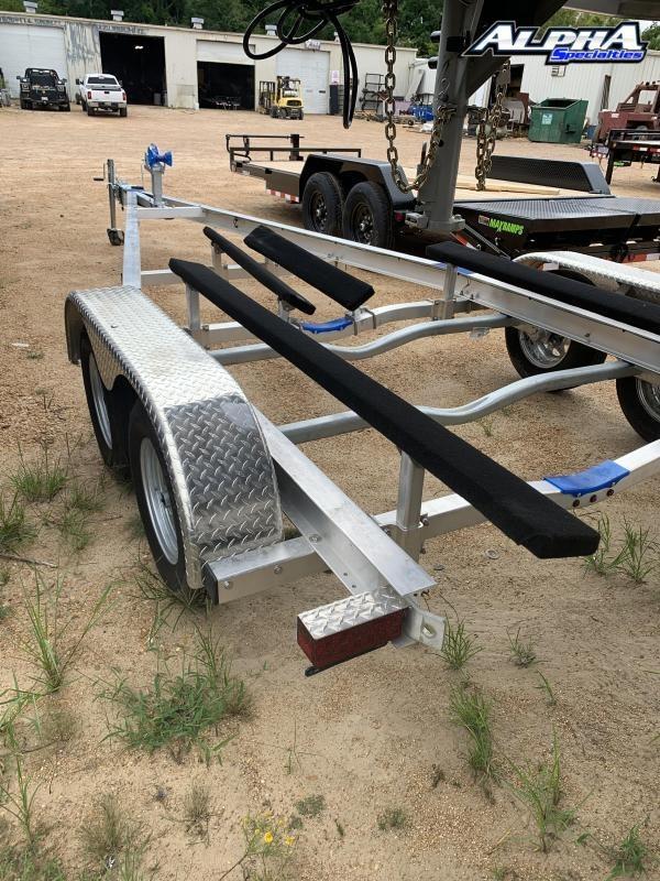 Used 2020 All-Aluminum 8' x 20' Boat Trailer 7K GVWR