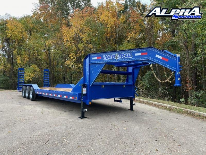 "2021 Load Trail 102"" x 30' Triple Gooseneck Carhauler (80"" Between Fenders) 21k GVWR"