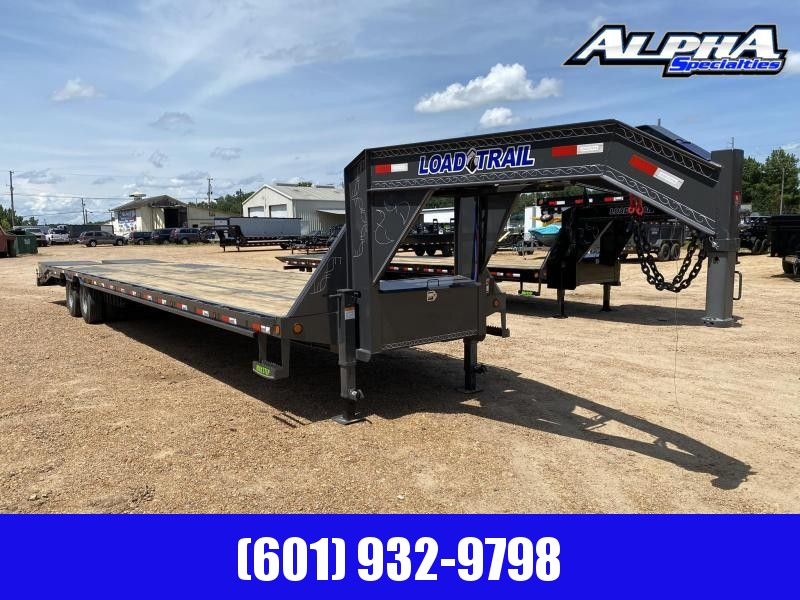 "2020 Load Trail 102"" x 40' Tandem Low-Pro Gooseneck w/Under Frame Bridge & Pipe Bridge 24K GVWR"