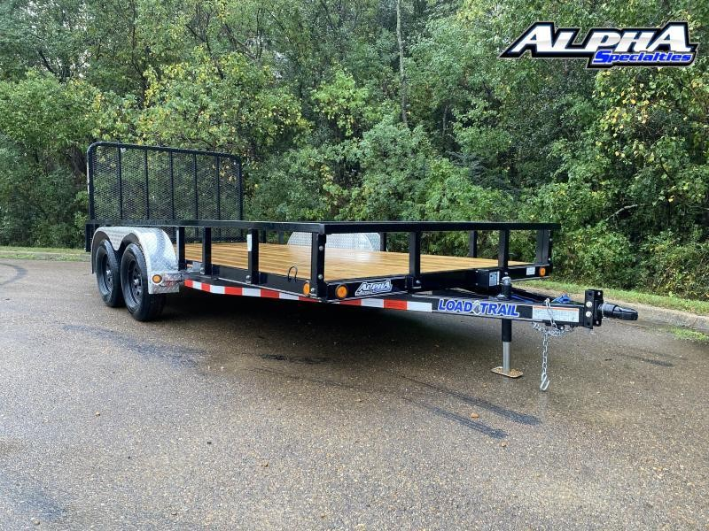 "2021 Load Trail 83"" x 16' Tandem Axle Utility (4"" Channel Frame) 7K GVWR"