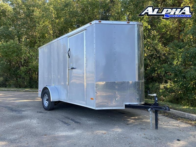 2021 Freedom Trailers 6' Wide Enclosed Cargo Trailer