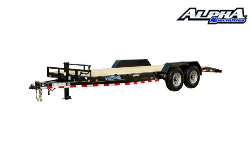 """2021 Load Trail 83"""" x 22' Tandem Axle Carhauler 14K GVWR"""