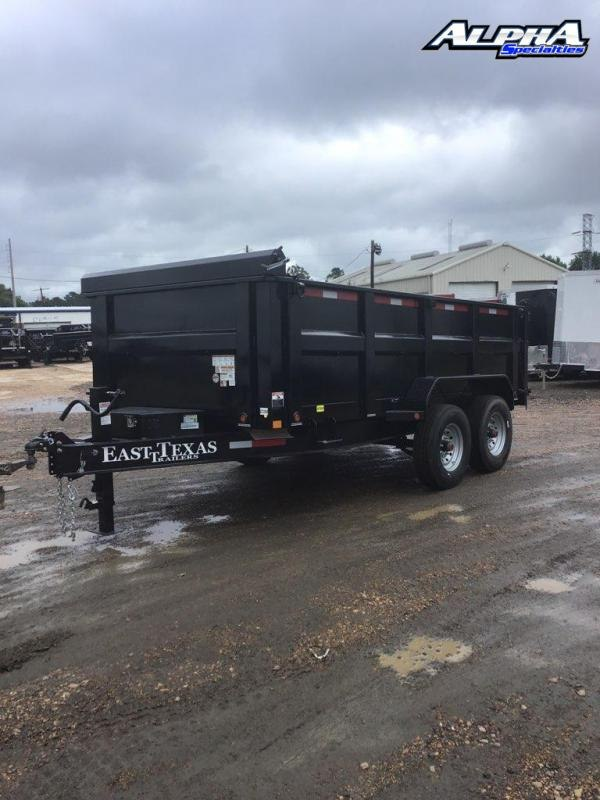 "2021 East Texas 83"" x 14' Tandem Dump Trailer"