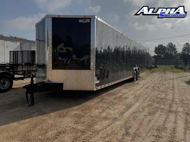 Used 2020 Cynergy Cargo 7' x 32' Tandem Axle Enclosed Cargo Trailer