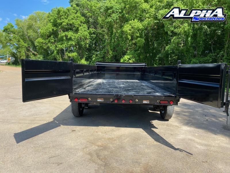 """2021 Load Trail 83"""" x 14' Tandem Axle Dump"""