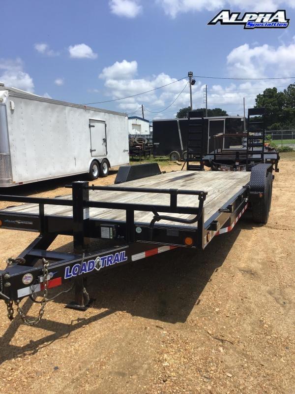 """2017 Load Trail 83"""" x 22' Tandem Axle Carhauler"""