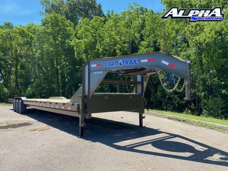 "2021 Load Trail 102"" x 40' Triple Gooseneck Carhauler"