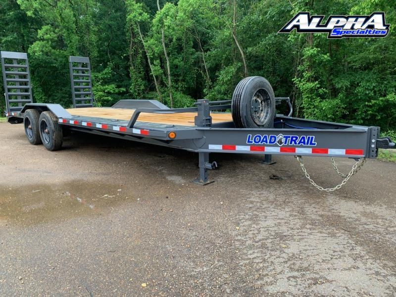 "2021 Load Trail 102"" x 22' Tandem Axle 10"" I-Beam Frame Equipment Hauler"