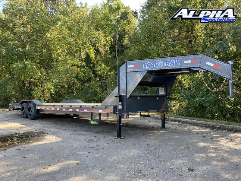 "2021 Load Trail 102"" x 30' Tandem Gooseneck Carhauler (80"" Between Fenders) 16K GVWR"