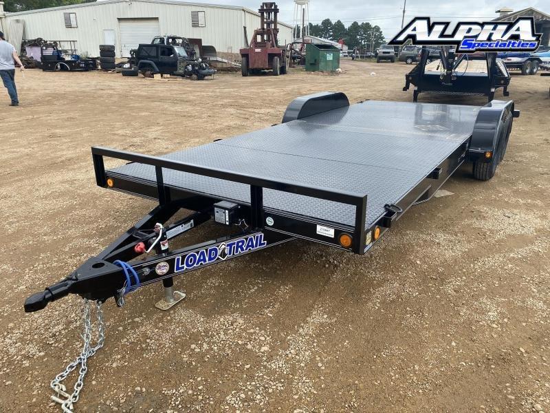 """2020 Load Trail 83"""" x 20' Tandem Axle Carhauler Steel Deck 7K GVWR"""