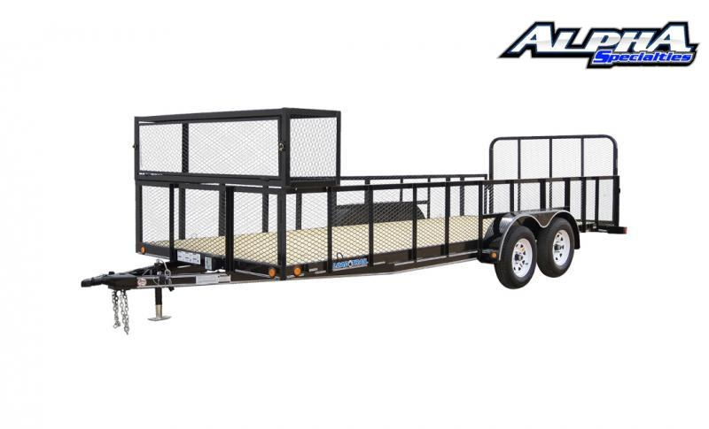 "2021 Load Trail 83"" x 14' Tandem Axle Utility (4"" Channel Frame) 7K GVWR"
