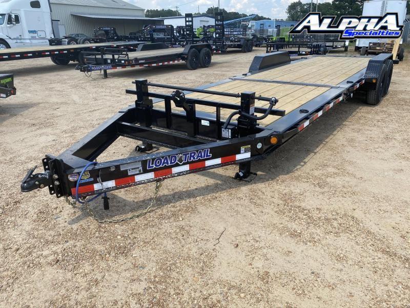 """2020 Load Trial 83"""" x 24' Tilt-N-Go Tandem Axle Tilt Deck I-Beam Frame 14K GVWR"""