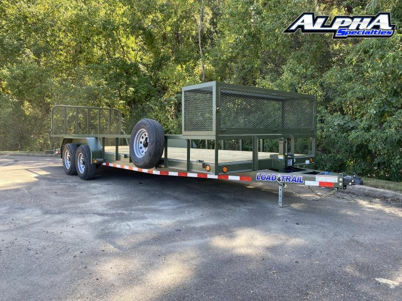 "2021 Load Trail 83"" x 22' Tandem Carhauler w/Side Rails 9990 GVWR"