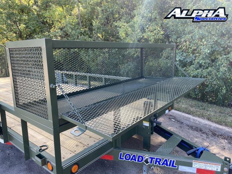 "2021 Load Trail 83"" x 22' Tandem Carhauler w/Side Rails 9990 GVWR"