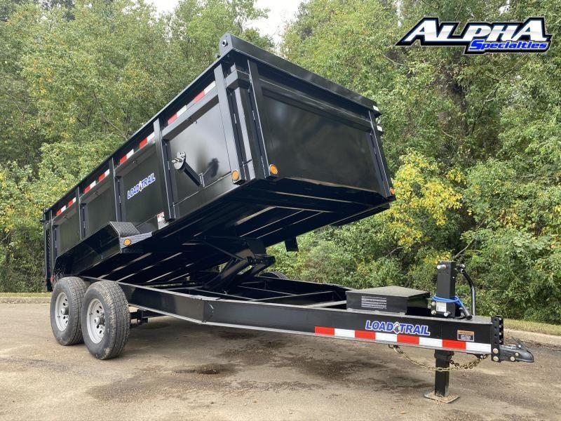 """2022 Load Trail 83"""" x 14' Tandem Axle Dump 36"""" sides"""