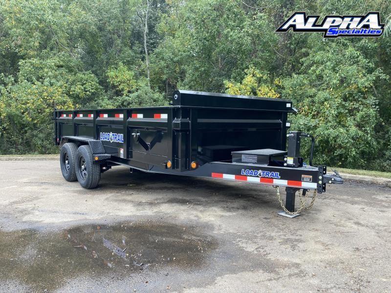 """2022 Load Trail 83"""" x 16' Tandem Axle Dump"""