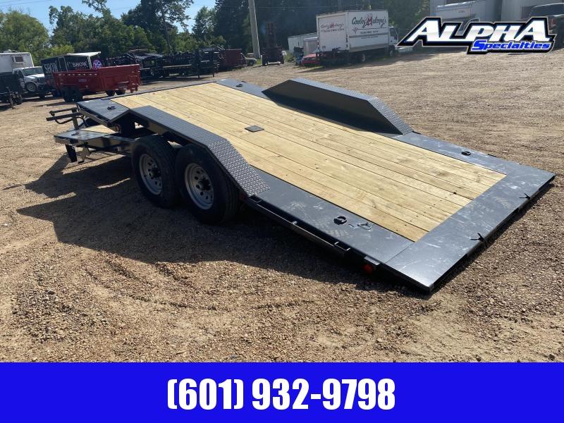 """2020 Load Trail 102"""" x 20' Tilt-N-Go Tandem Axle Tilt Deck I-Beam Frame Gravity Equipment Trailer 14K GVWR"""