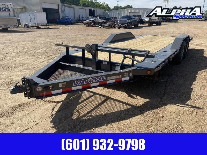 "2020 Load Trail 102"" x 20' Tilt-N-Go Tandem Axle Tilt Deck I-Beam Frame Gravity Equipment Trailer 14K GVWR"