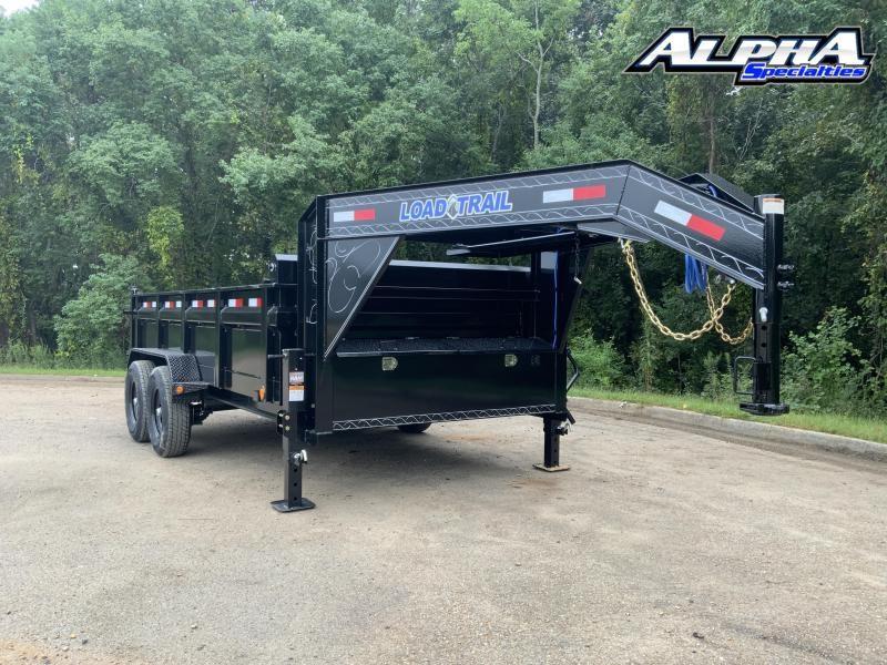 "2022 Load Trail 83"" x 14' Gooseneck Dump - 24"" Sides 14K GVWR"