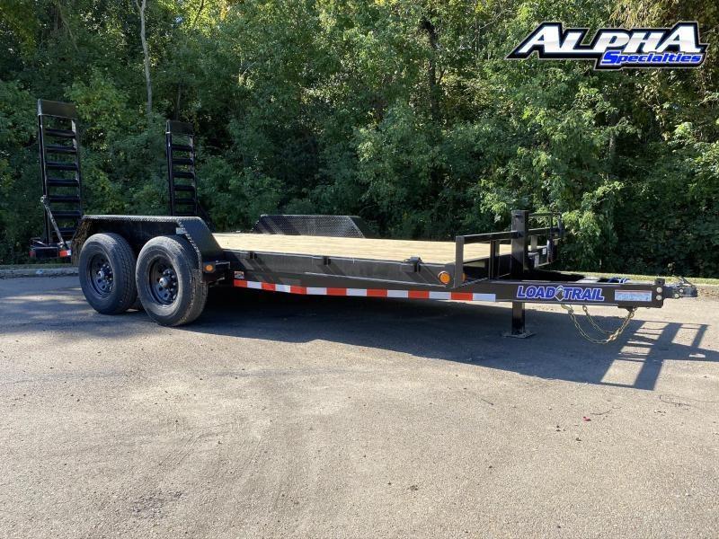 """2021 Load Trail 83"""" x 16' Tandem Axle Carhauler"""