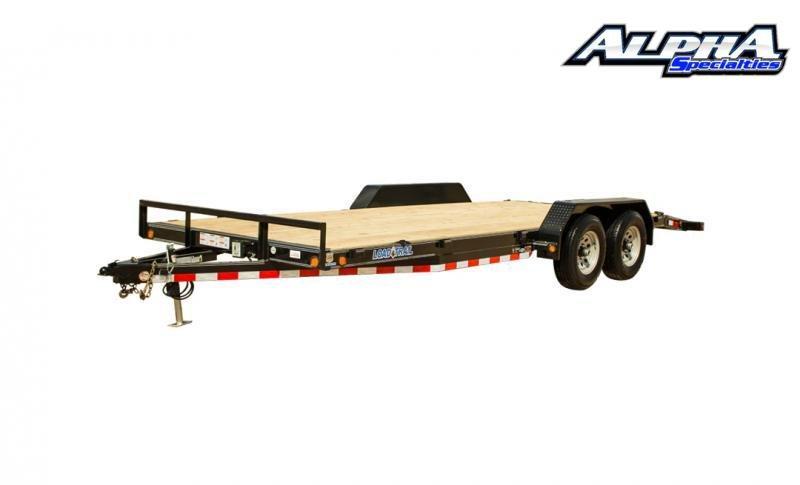 """2021 Load Trail 83"""" x 18' Tandem Axle Carhauler 14K GVWR"""