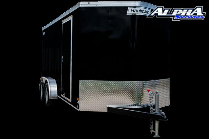 2021 Haulmark 6' x 12' Tandem Axle V-Nose Enclosed Trailer