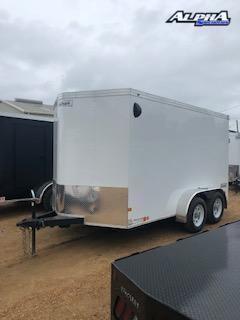 2021 Haulmark 7' x 12' Tandem Enclosed Trailer