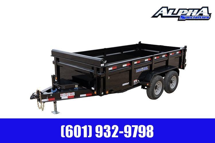 "2021 Load Trail 83"" x 14' Tandem Axle Dump Trailer w/ 24"" Sides 14K GVWR"