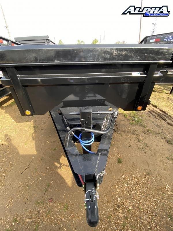 "Used 2020 Load Trail 83' x 16"" w/ 24"" Sides Tandem Axle Dump Trailer 14K GVWR"