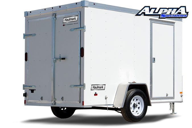 2021 Haulmark 6' x 12' Transport V-Nose Enclosed / Cargo Trailer 2990 GVWR