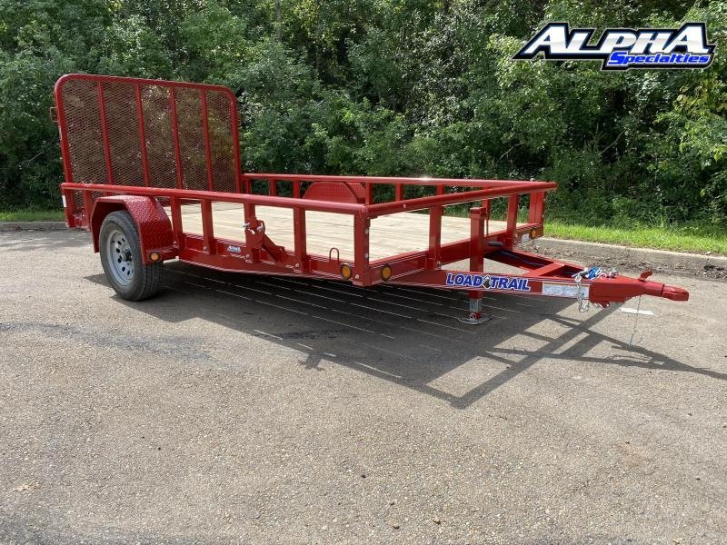 "2021 Load Trail 77"" x 12' Single Axle (4"" Channel Frame) 3K GVWR"