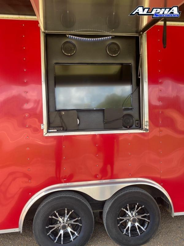 2016 Lark 8.5 x 24 Enclosed Cargo Trailer