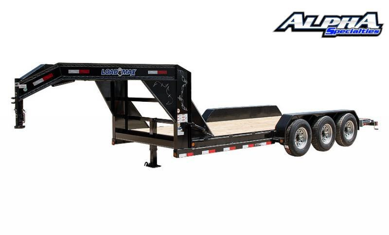"2021 Load Trail 102"" x 36' Triple Gooseneck Carhauler (80"" Between Fenders) 21K GVWR"