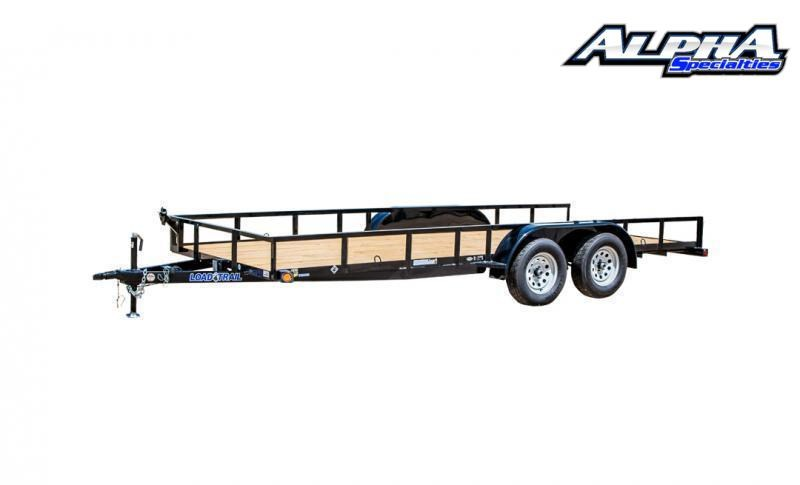 "2021 Load Trail 83"" x 16' Tandem Axle Utility (2"" x 3"" Angle Frame) 7K GVWR"