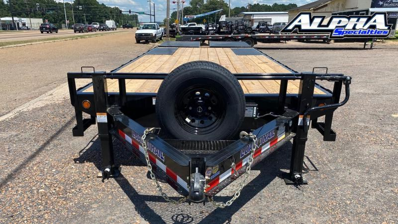 "2021 Load Trail 102"" x 24' Tandem Standard Pintle Hook Equipment Trailer 14K GVWR"