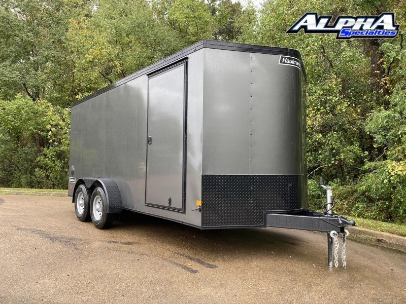 2021 Haulmark 7' x 16' Transport V-Nose Tandem Enclosed Trailer 9990 GVWR