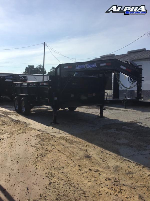 "2022 Load Trail 83"" x 14' Tandem Axle Gooseneck Dump - 24"" Sides"