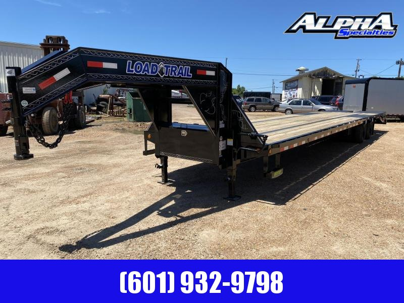 "2020 Load Trail 102"" x 40' Tandem Low-Pro Gooseneck w/ Under Frame Bridge & Pipe Bridge 24K GVWR"