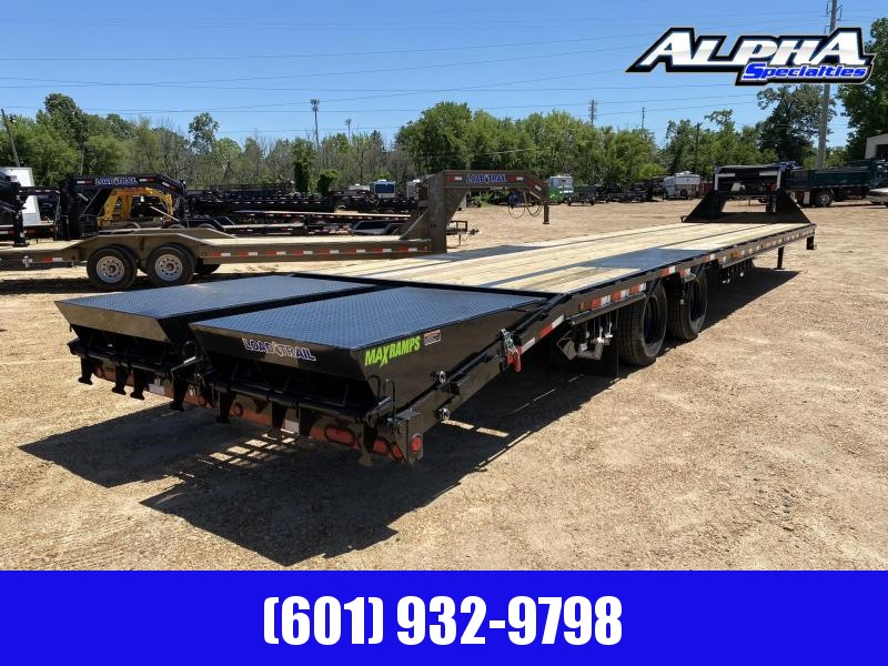 "2020 Load Trail 102"" x 40' Tandem Low-Pro Gooseneck w/ Under Frame Bridge & Pipe Bridge 24K GVWR"