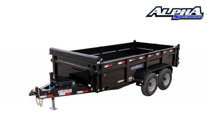 "2021 Load Trail 83"" x 14' Tandem Axle Dump Trailer 14K GVWR w/ 48"" Sides"