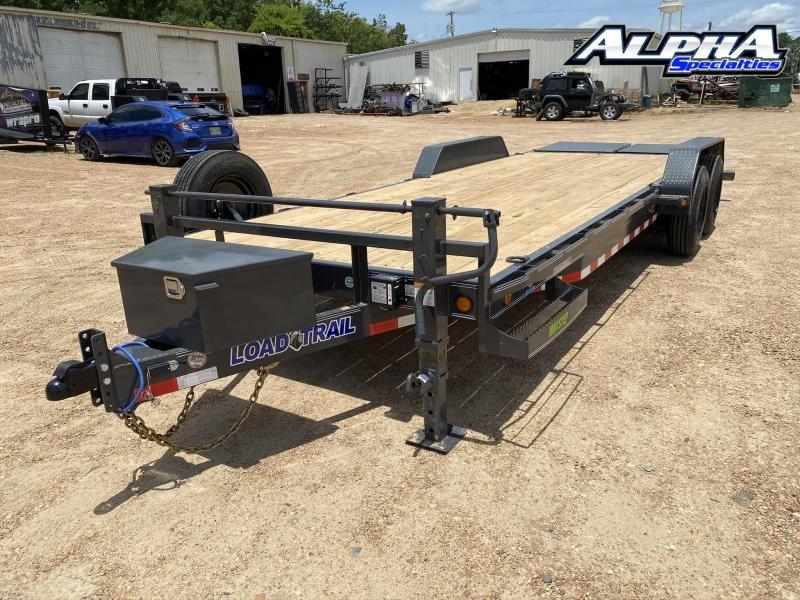 """2020 Load Trail 83"""" x 22' Tandem Axle Carhauler 16K GVWR"""