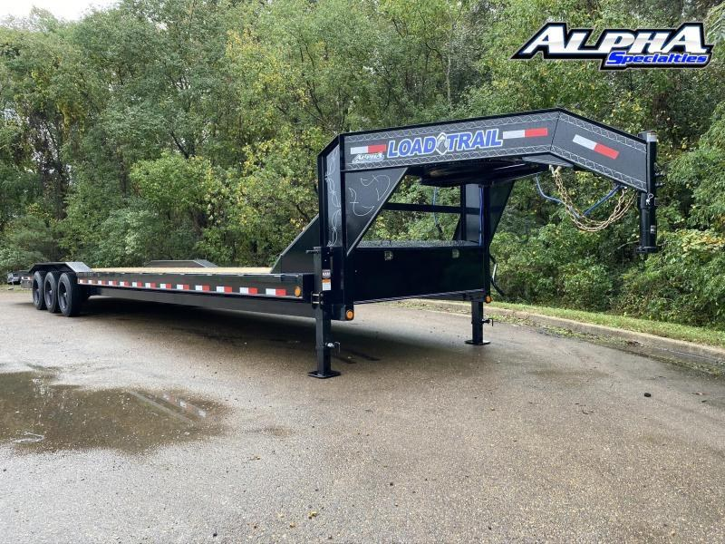 "2021 Load Trail 102"" x 38' Triple Gooseneck Carhauler (80"" Between Fenders) 24K GVWR"