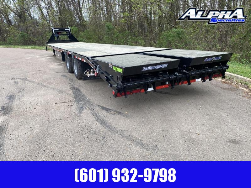 2020 Load Trail GP24 Low-Pro 102 x 40  w/Under Frame Bridge & Pipe Bridge Equipment Trailer 25900 GVWR